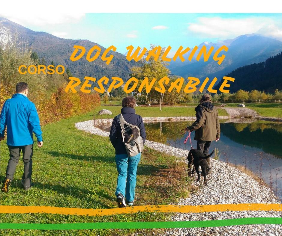 Corso IL DOG WALKING RESPONSABILE - 18/19 NOVEMBRE